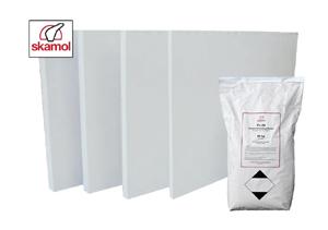 SKAMOTEC 225 - izolačný materiál pre stavbu krbov